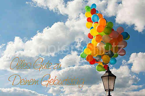 Alles Gute Geburtstag Luftballons Www Stimmungs Bilder De