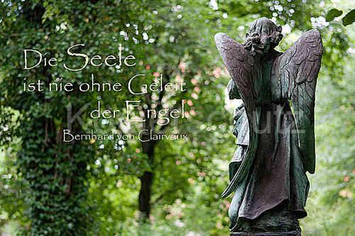 Die Seele, Engel, Trauer