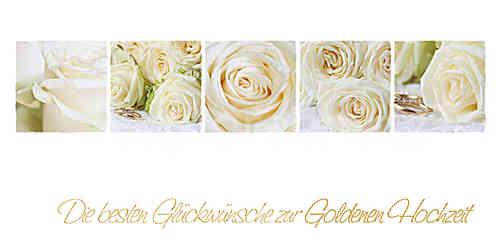 Goldene Hochzeit Weisse Rosen Www Stimmungs Bilder De
